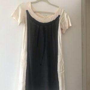 Benson Black/White Shift Dress